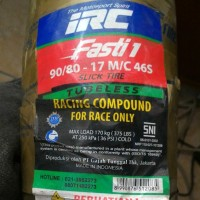 IRC Fasti 1 uk 90 80 17 Racing Slick Tires Ban Slick Ban Racin