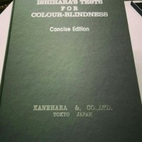 Buku Ishihara 14 Plates untuk tes buta warna