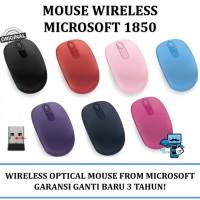 Mouse Wireless Microsoft 1850 - Wireless Mobile Mouse 1850 - Original