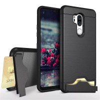 Case LG G7 / G7+ / G7 PLUS with card slot and kickstand