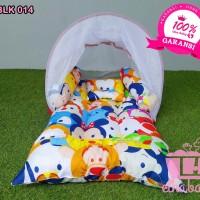 Kasur Bayi Lipat Paket Lengkap Free Tas Elhababy Kblk014