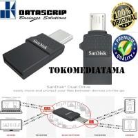 SANDISK FLASHDISK USB 2.0 Dual Drive OTG 16GB 100% ORIGINAL