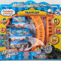 mainan kereta api rel lokomotif thomas & friends train set locomotive