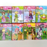 lego princess sy686 brick block sy 686 mainan anak perempuan cewek toy
