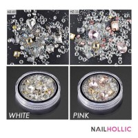 Crystal jelly nail decoration / nail art / nail rhinestone