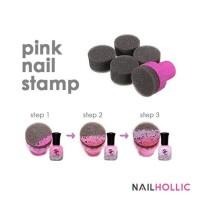 Nail art stamping sponge set