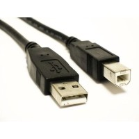 Kabel Printer Usb 1.5m / 1.5 Meter Merk Hp 1.5meter 1.5 M