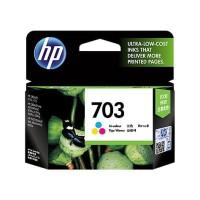 HP 703 Color Tinta original cartridge catride catrit catridge