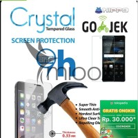 Tempered Glass Hippo Crystal Lenovo Vibe K4 Note Garansi Resmi