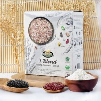 Bionic Farm 7 Blend White Gourmet Blend Mixed Grains and Beans