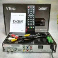 SET TOP BOX RECIVER TV DIGITAL DVB-T2 VT6102 Diskon