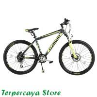 Element Chalangger Sepeda MTB - Black Green 26 Inch