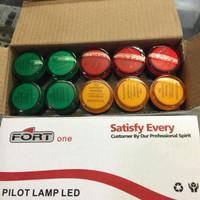 Pilot Lamp Merah, Kuning, Hijau 24vdc 22mm