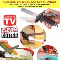 Gunting Sayur Serbaguna Clever Cutter Stainless Stell