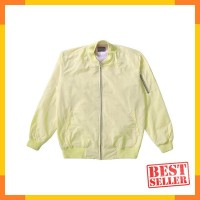 B338 - Roughneck Baby Yellow Bomber Jacket