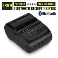 Bluetooth Usb Chargeable Pos 58Mm Thermal Receipt Printer For Android