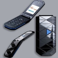 NOKIA 7070 PRISM SINGLE SIM HANDPHONE LIPAT FLIP NEW REFURBISHED