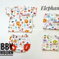 Libby newborn pakaian bayi stelan umur 1 bulan sd 3 bulan
