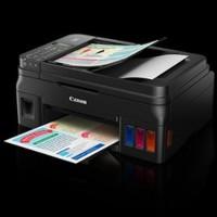 DISKON Printer Canon Pixma G4000 Wireless All In One w ADF Fax Limited