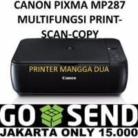 STOK TERBARU CANON MP287 PIXMA PRINTER SCAN COPY Limited