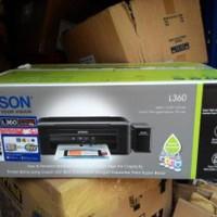 Printer Epson L360 All In One - Print Scan Copy Berkualitas