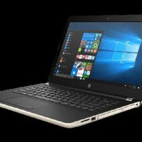 HP Laptop 14-bs504TX WarNa Gold Berkualitas