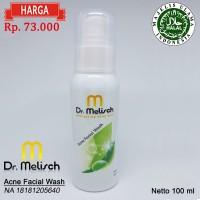 Acne Facial Wash Dr Melisch 100% Berkualitas Untuk Perawatan Wajah