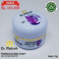 Brightening Night Cream 100% Kualitas Terbaik Untuk Perawatan Wajah