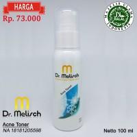 Acne Toner Dr Melisch 100% Berkualitas Untuk Wajah Berjerawat