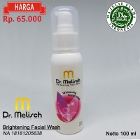 Brightening Facial Wash 100% Kualitas Terbaik Untuk Perawatan Wajah