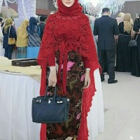 Grosir Kebaya Modern Set Long Tunik.Brukat 3in1 Best Seller