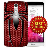 Custom Case Hp Spiderman Marvel Superhero LG G3 Stylus/G4 Case