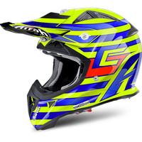 AIROH AVIATOR-J Cairoli Qatar Helm Motocross Anak Size XS dan S Carbon