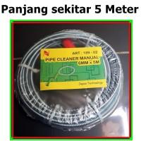 Kawat No Reiki Nankai pipe cleaner anti sumbat Wastafel Bathtub Wc air