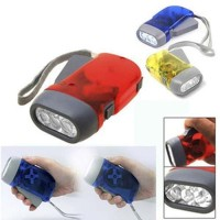 SENTER Pompa TANGAN non baterai / hand pressing flashlight