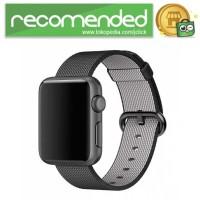 Tali Jam Tangan Nylon Apple Watch Series 1/2/3 - Hitam - 42mm
