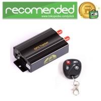 GPS Tracker Mobil Motor dengan Remote Control - TK103b - Hitam