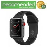 Tali Jam Tangan Silicone Apple Watch Series 1/2/3 - Hitam - 42mm