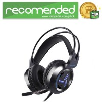 Pro Gaming Headset 7.1 RGB Mode LED Light with Microphone - V2000 - H