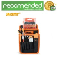 Jakemy 70 in 1 Alat Reparasi Obeng Set Multifungsi with Bag - JM-P11