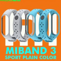 Gelang Mi Band 3 MiBand 3 MIJOBS 2 Warna SPORT Silicone Strap Replace