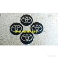 Harga stiker hitam dop velg toyota | antitipu.com