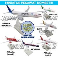 Diecast Miniatur Pesawat Citylink Batik Air Asia Sriwijaya Bubble Wrap