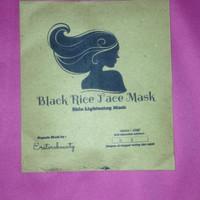 Black rice face mask l masker organic beras hitam