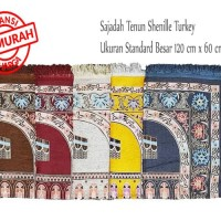 Sajadah Tenun Shenille Murah Souvenir Haji Umroh / travel