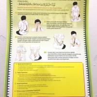 Harga jual mainan poster edukasi tata cara tayamum termurah mainan | antitipu.com