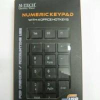 Numeric Keypad M-Tech / Mtech USB Numerik Pad Universa