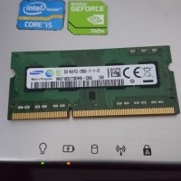 RAM 2GB DDR3 PC3-12800s Samsung SODIMM buat Laptop