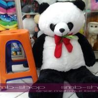 Boneka Panda Rasfur Gigit daun Giant Lucu SNI 75b54f7701