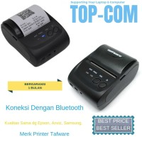Printer Kasir Bluetooth Printer POS Therma Printer Mini Kecil Taffware